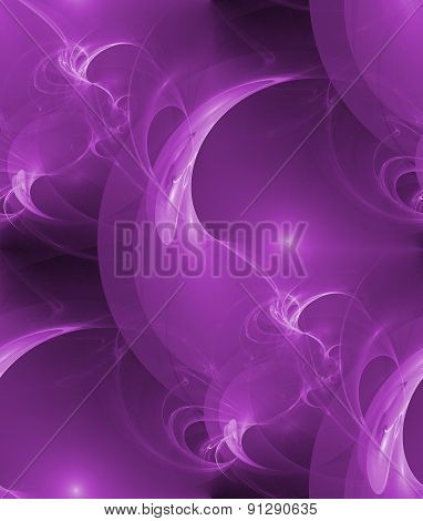 Seamless Abstract Wallpaper In Violet