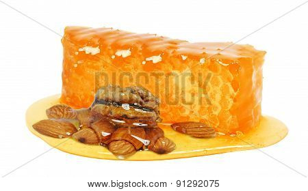 honey and nuts