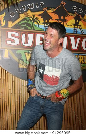 LOS ANGELES - MAY 20:  Mike Holloway at the Survivor Season 30 Finale at the CBS Radford on May 20, 2015 in Studio City, CA