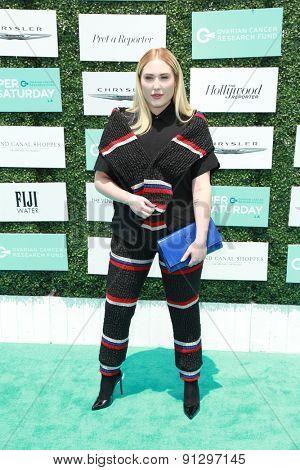 0LOS ANGELES - MAY 16:  Hayley Hasselhoff at the Super Saturday LA at the Barker Hanger on May 16, 2015 in Santa Monica, CA
