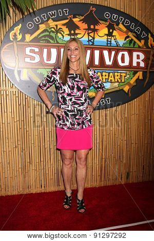 LOS ANGELES - MAY 20:  Carolyn Rivera at the Survivor Season 30 Finale at the CBS Radford on May 20, 2015 in Studio City, CA
