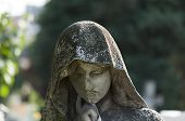picture of cemetery  - Guarding angel - JPG