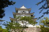 stock photo of ninja  - The original Ninja castle of Iga Ueno also known as  - JPG