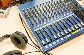 foto of recording studio  - technology - JPG