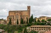 Постер, плакат: Basilica Of San Domenico Siena Italy