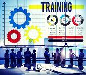 stock photo of mentoring  - Training Mentoring Development Ideas Inspire Concept - JPG