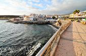 foto of canary  - Sea Village at the Spanish Canary Islands - JPG