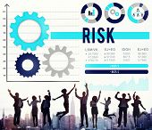 stock photo of risk  - Risk Risk Management Dangerous Safety Security Concept - JPG