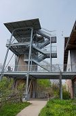 picture of observed  - ecology center gardens trail and observation tower in riverside park of milwaukee wisconsin - JPG