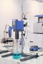 stock photo of beaker  - Laboratory equipment - JPG