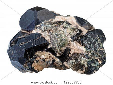 Black, Green Diopside Gemstones And Spinel Gem