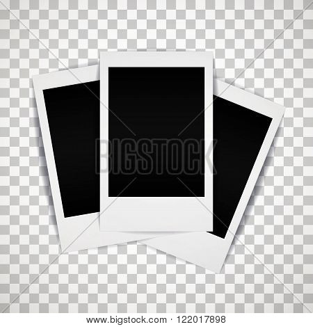 Photo frame with shadow, mini size.