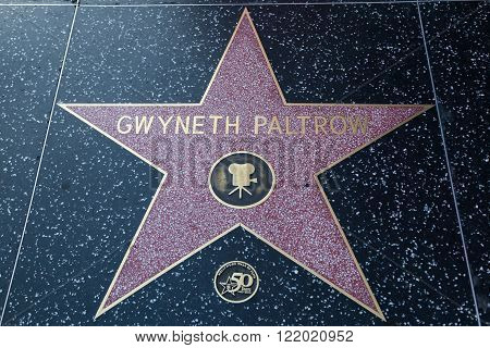 Gwyneth Paltrow Hollywood Star