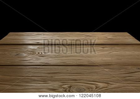 Wooden Table Or Backdrop