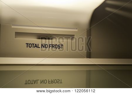 Total No Frost Empty Fridge Interior
