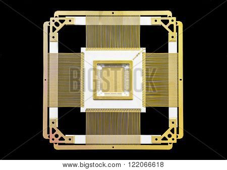 ceramic-metal case of a chip. high technologies