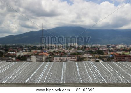 The View Of Chiangmai Thailand