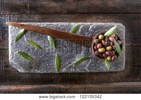 Mixed Olives In Brine