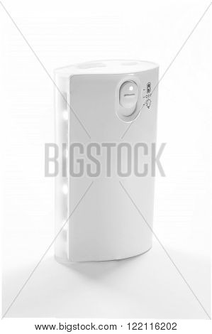 Close up Powerbank Isolated on white background