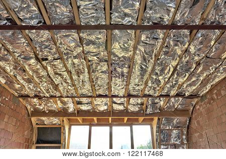 Fiberglass Batt Insulation Between Roof Trusses