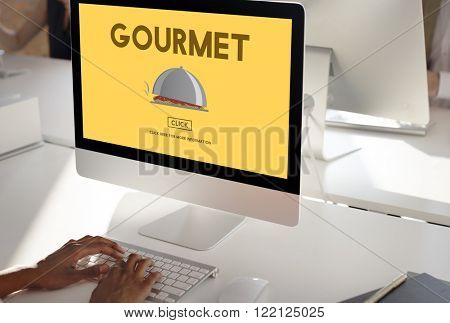 Gourmet Delicacy Dinner Food Healthy Meal Concept