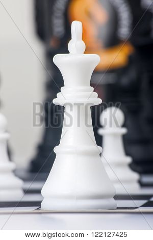 When playing the game of chess, a strategy game ...