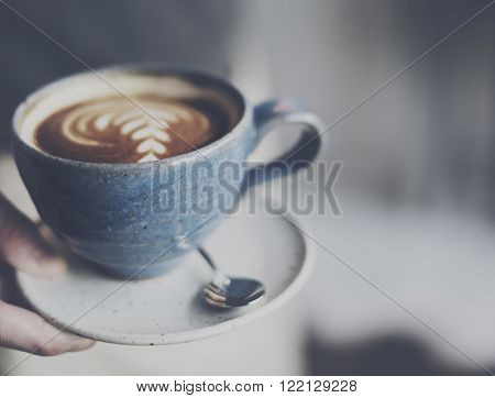Coffee Cafe Caffeine Cappuccino Freshness Cup Concept