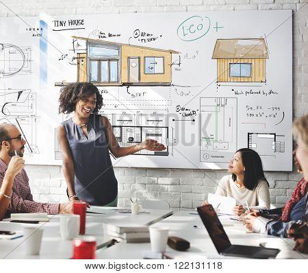 House Layout Floor plan Blueprint Sketch Concept