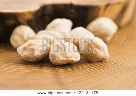 Candlenut Or Kukui Is A Spice Especially Used In Indonesian Cooking