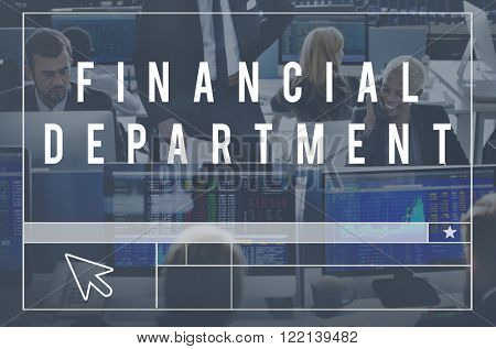 Financial Department Section Ministry Division Concept