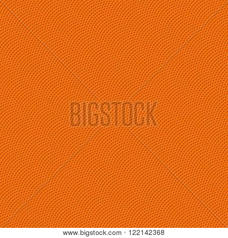 Basketball seamless texture with bumps vector illustration