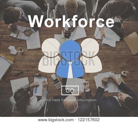 Work Force Motivation Effort Energy Concept
