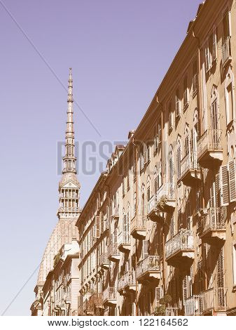 Mole Antonelliana Turin Vintage