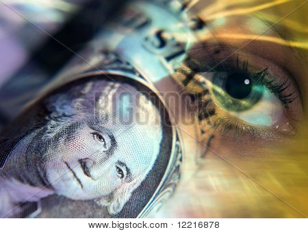 Worlds Eye oversees US dollar bank note