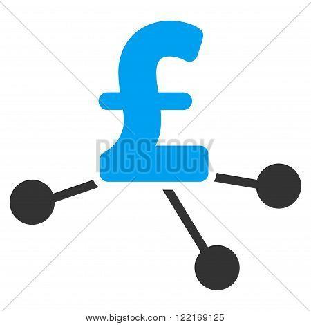 Pound Bank Branches vector icon. Pound Bank Branches icon symbol. Pound Bank Branches icon image. Pound Bank Branches icon picture. Pound Bank Branches pictogram. Flat pound bank branches icon.