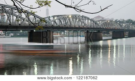 Truong Tien Bridge, Hue, Vietnam, Viet Nam