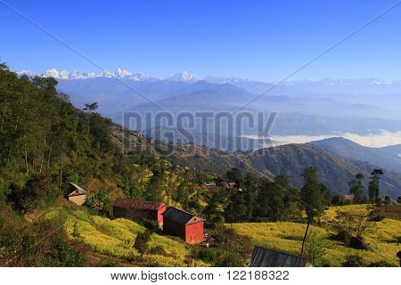 Above The Clouds In Nagarkot