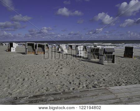 the german Island of wangeroog in the North sea