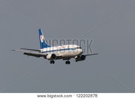 Boeing 737 Jet Aircraft
