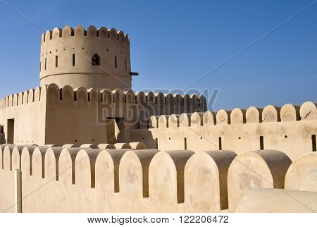 Fort Of Sur, Oman. Middle East