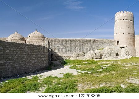 The Bastion or Castle in Sultanate Oman