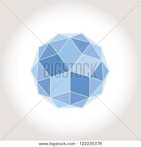 Shere Sphere Blue Star logotype icon creative