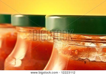 Molho de macarrão tradicional.