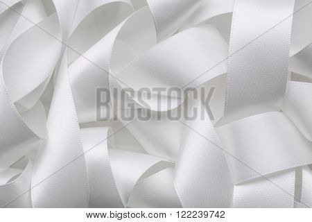 Abstract curly ribbon,ribbon background