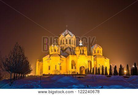 St. Gregory the Illuminator cathedal in Yerevan, Armenia