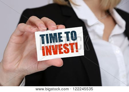 Invest Investment Investor Finance Financial Finances Money Business Concept