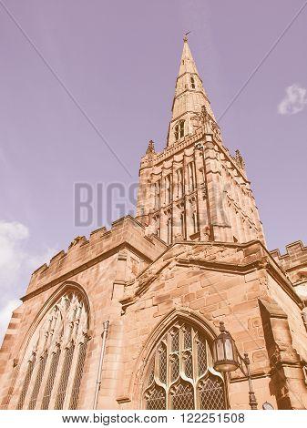 Holy Trinity Church, Coventry Vintage