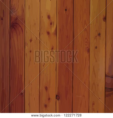 Grunge wood plank vector texture or background