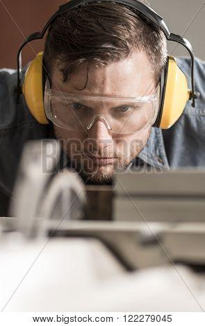 Focused In Work