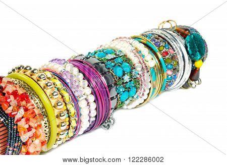 Bracelets Overr White